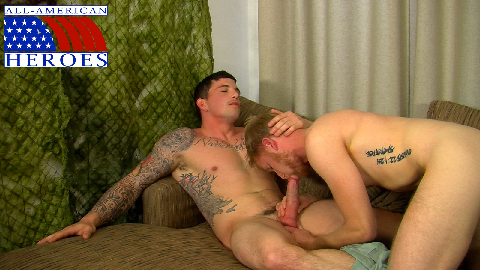 Giving Straight Marine A Bj