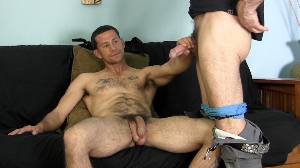ever sucked another guys cock