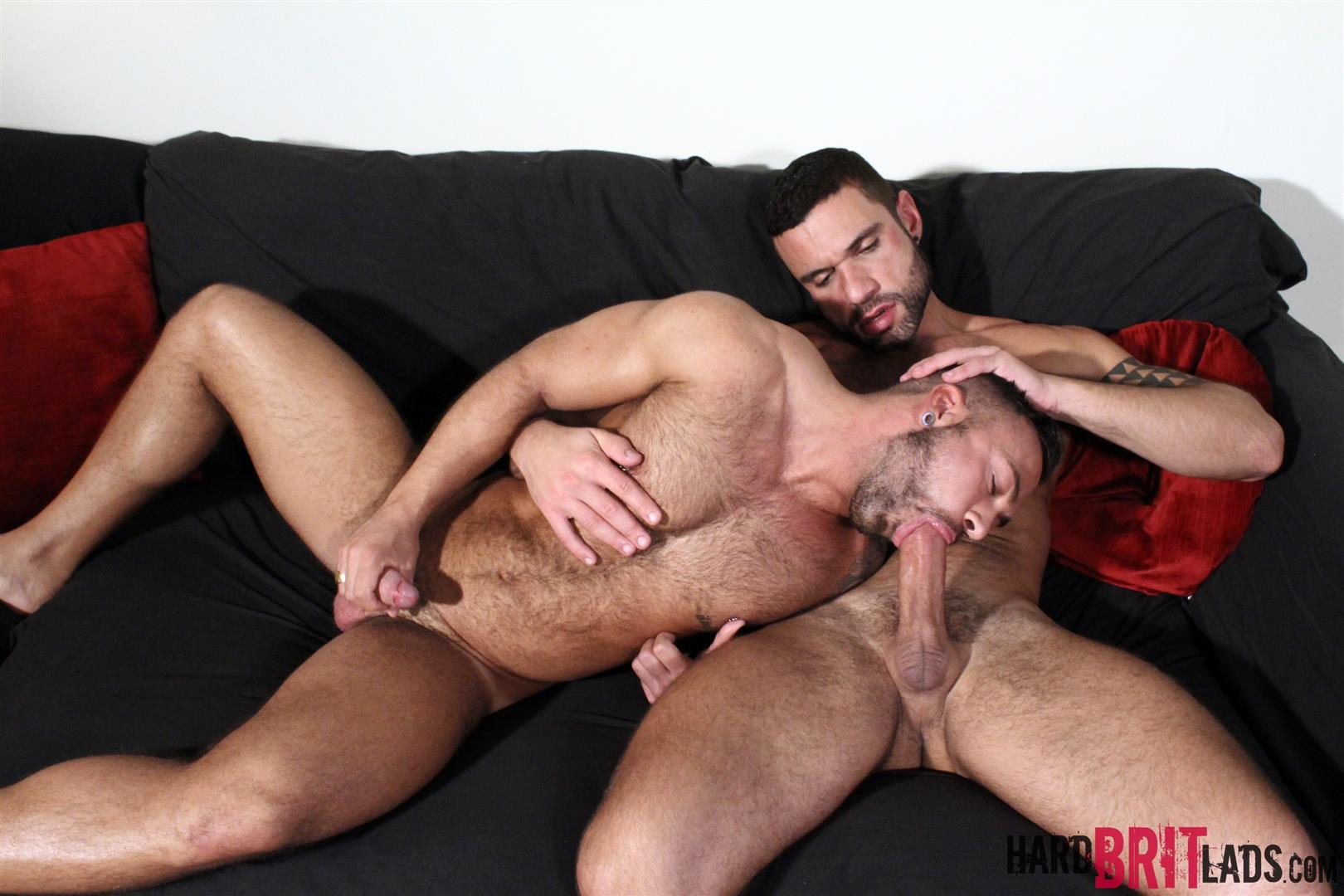 Hard Brit Lads Sergi Rodriguez and Letterio Amadeo Big Uncut Cock Fucking Amateur Gay Porn 12 Hairy British Muscle Hunks Fucking With Their Big Uncut Cocks