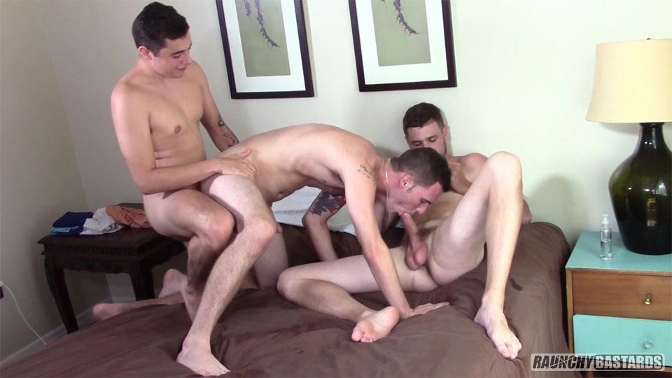 Raunchy-Bastards-Bo-Connor-and-Dominic-Phelps-and-James-Andrews-Bareback-08 I'm Not Gay, But You Can Bareback My Ass