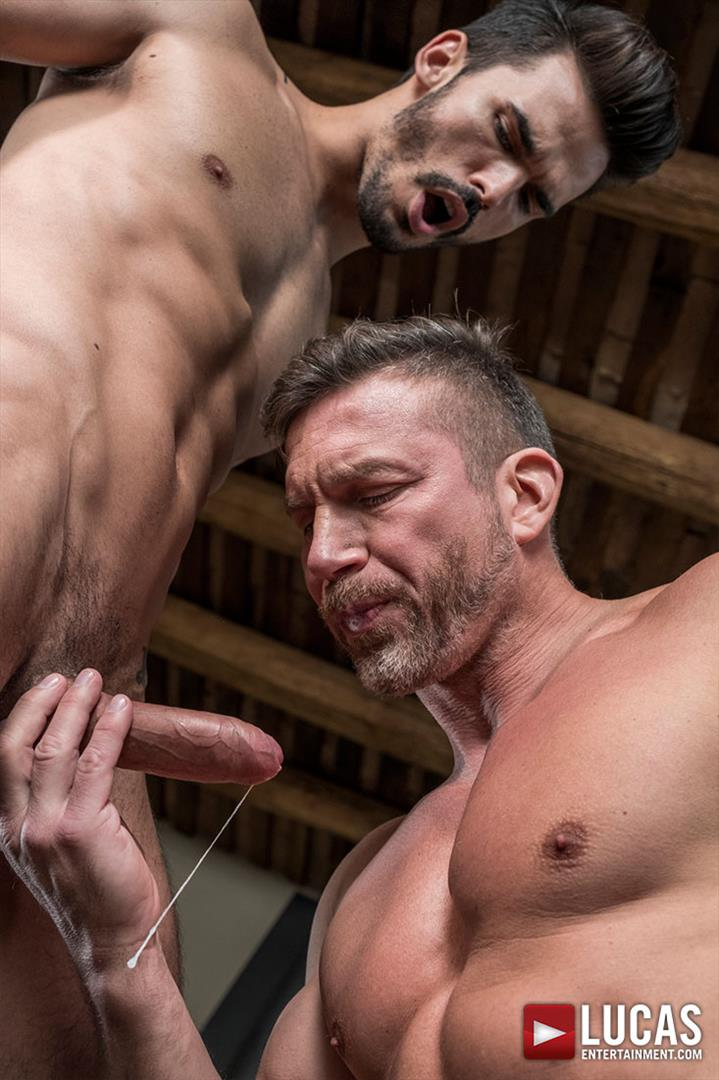 Lucas-Entertainment-Tomas-Brand-and-Aaden-Stark-Big-Uncut-Cock-Daddy-Barebacking-09 Hung Muscle Daddy Tomas Brand Barebacking Aaden Stark With His Big Uncut Dick